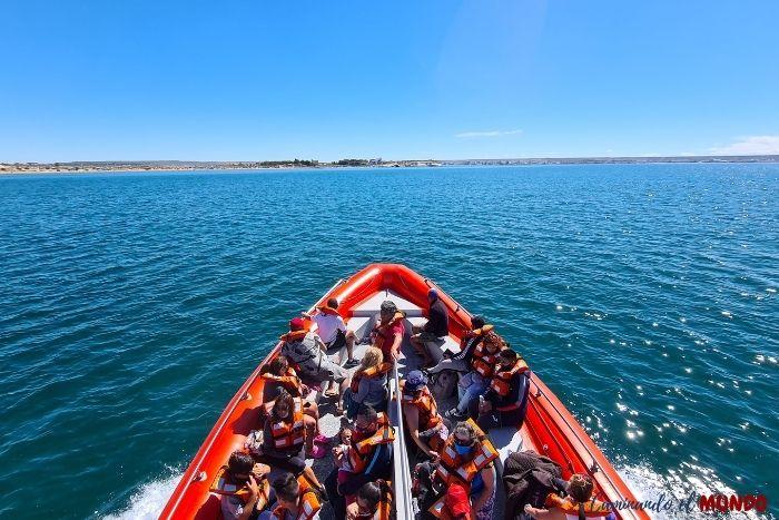 Navegación en Puerto Madryn