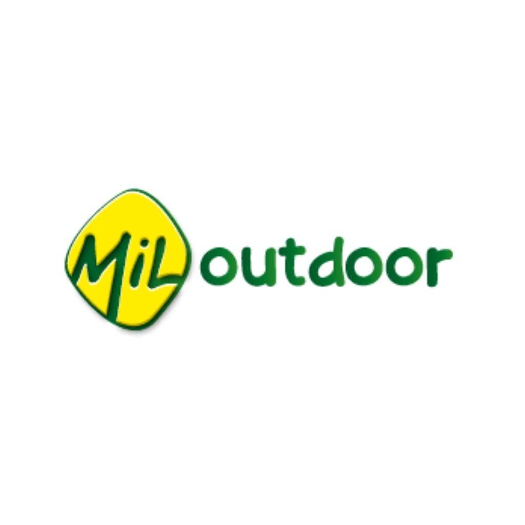 Logo mil outdoor caminando el mundo