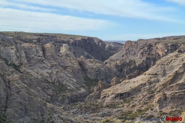 Mirador Cañón del Atuel en El Nihuil
