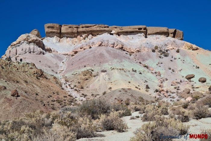 Cerro de los 7 colores, Uspallata